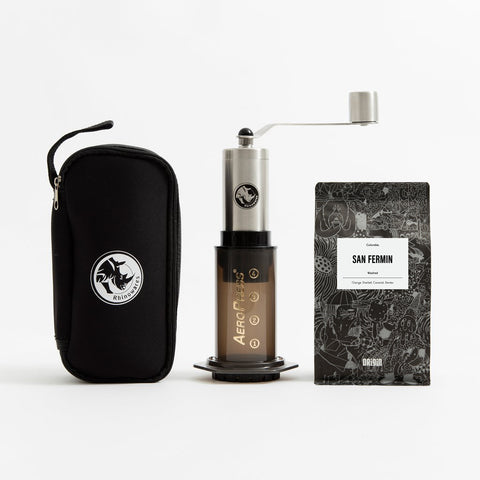 Aeropress & Grinder Travel Bundle