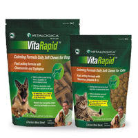 Vitarapid Calming Formula Daily Chews Dogs and Cats