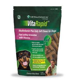 VitaRapid® Multivitamin Plus Daily Soft Chews for Dogs