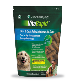 VitaRapid® Skin & Coat Daily Soft Chews for Dogs