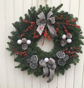 Christmas Holly Wreath Making Workshop