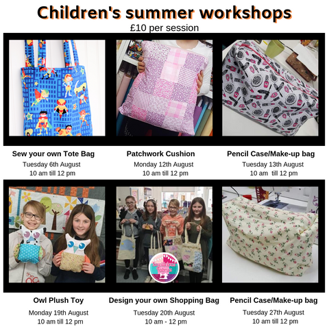 Children's summer workshops