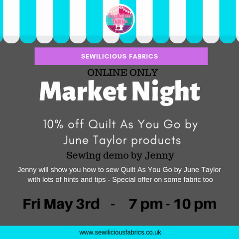 Market Night 3rd May At Sewilicious