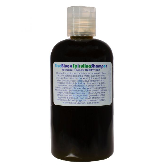 Living Libations - True Blue Spirulina Shampoo (240 ml)