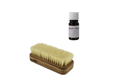 Living Libations Default Living Libations - Dry Brush for Body & Lymph + Tonic Set (10% Savings) Living Libations - Dry Brush for Body