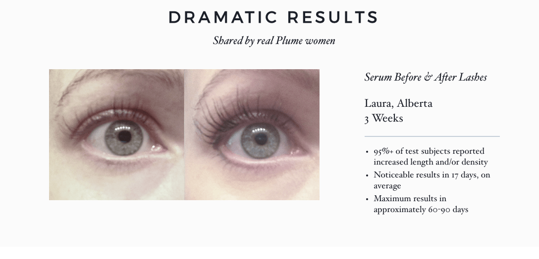 Plume Lash Brow Enhancing Serum An Uplifted Day
