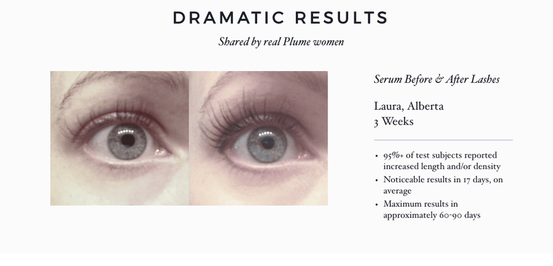 Plume Lash Amp Brow Enhancing Serum An Uplifted Day