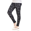 Printed Leggings D No 371