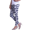 Buy printed leggings side view