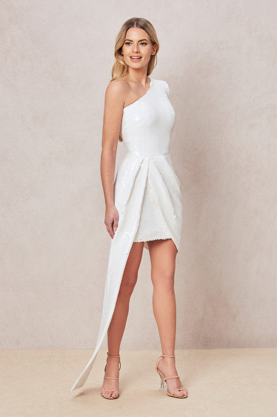 Celine White Dress