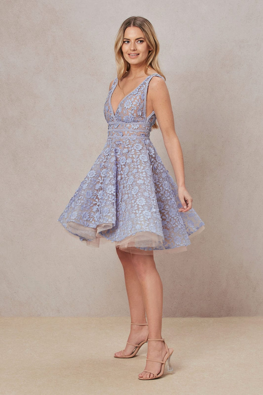 Daisy Blue Dress