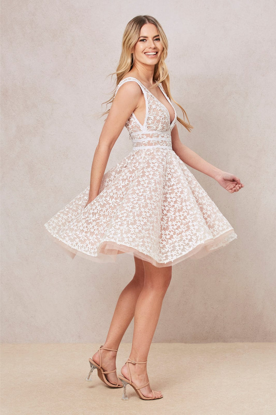 Daisy White Dress