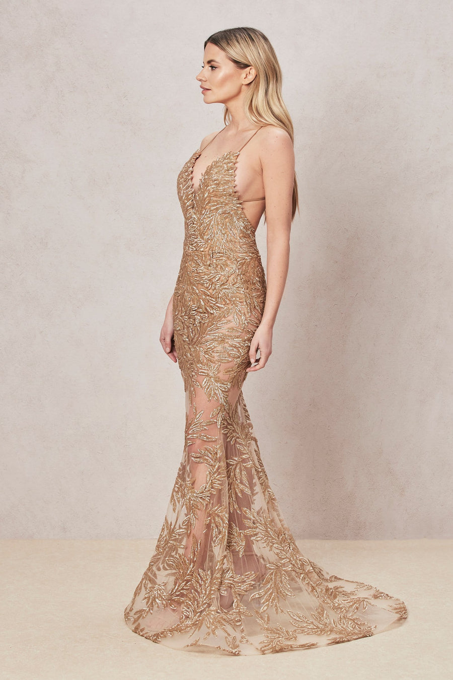 Stella Gold Dress