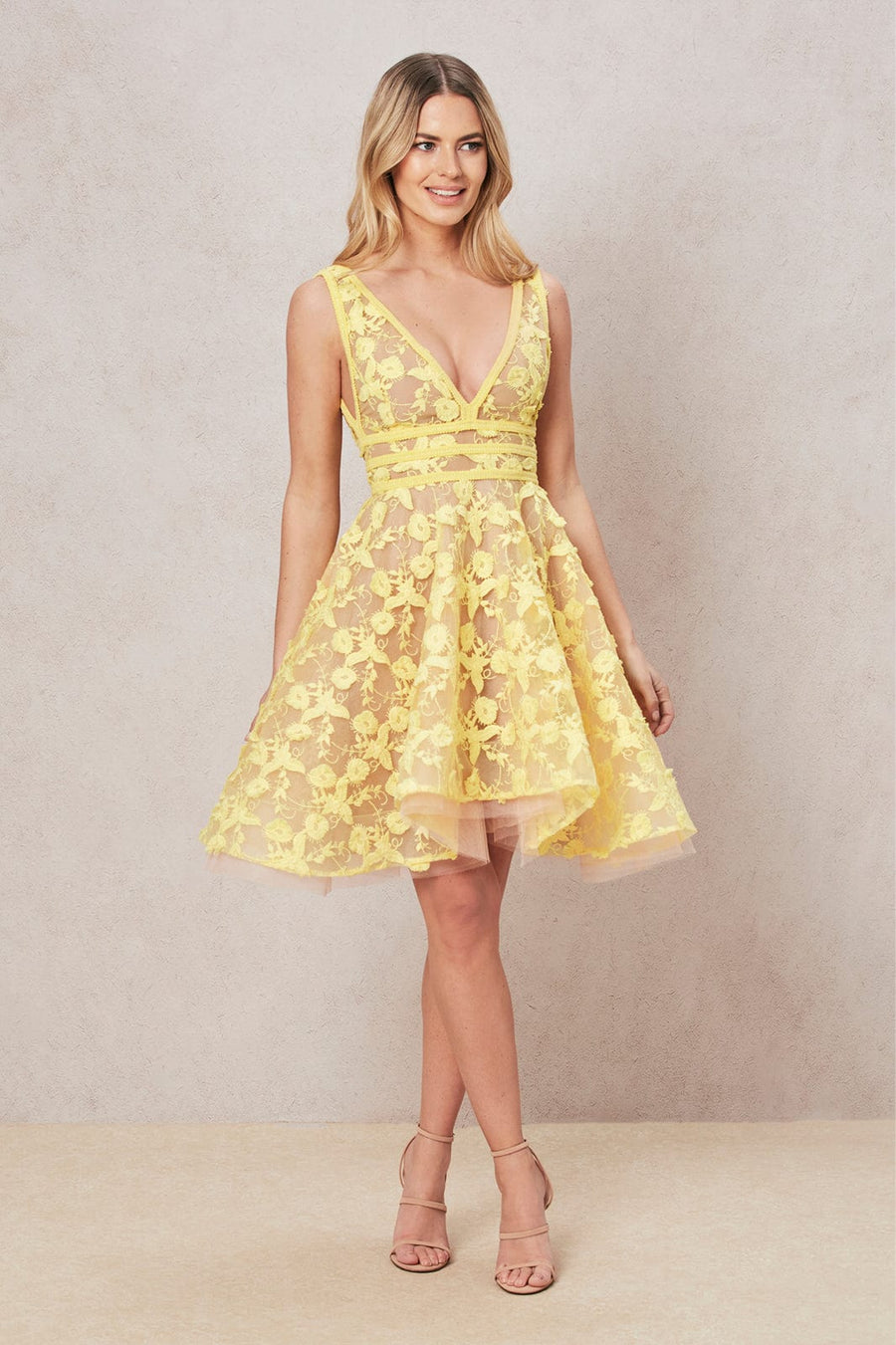Lola Lemon Dress