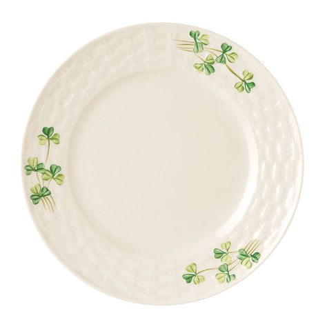 Belleek: Shamrock Side Plate - Hibernian Gifts