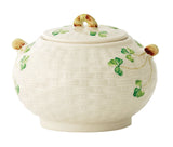 Belleek: Shamrock Sugar Bowl - Hibernian Gifts