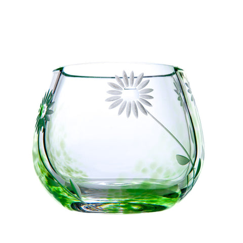 The Irish Handmade Glass Company: Summer Days Tealight Votive - Hibernian Gifts