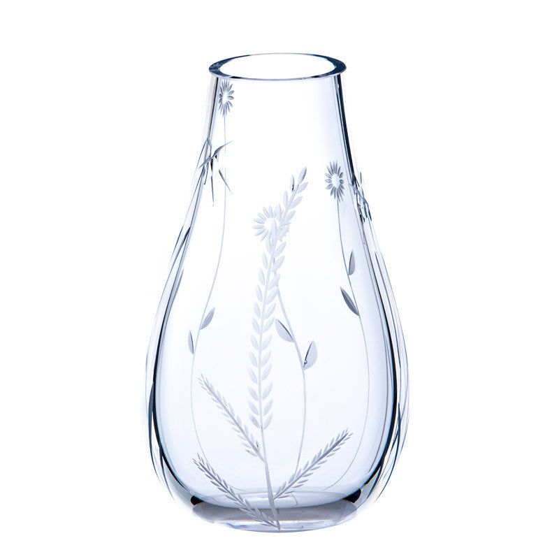 The Irish Handmade Glass Company: Morning Mist Large Vase - Hibernian Gifts