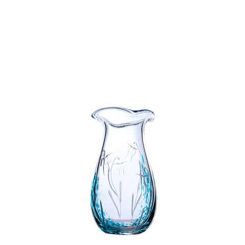 The Irish Handmade Glass Company: Celtic Meadow Posy Vase - Hibernian Gifts