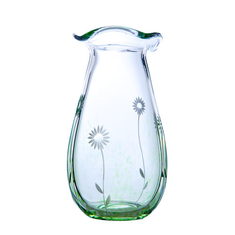The Irish Handmade Glass Company: Summer Days Large Vase - Hibernian Gifts