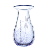 The Irish Handmade Glass Company: Wild Heather Large Vase - Hibernian Gifts