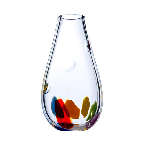 Irish Handmade Glass Company: Wildflower Large Vase - Hibernian Gifts