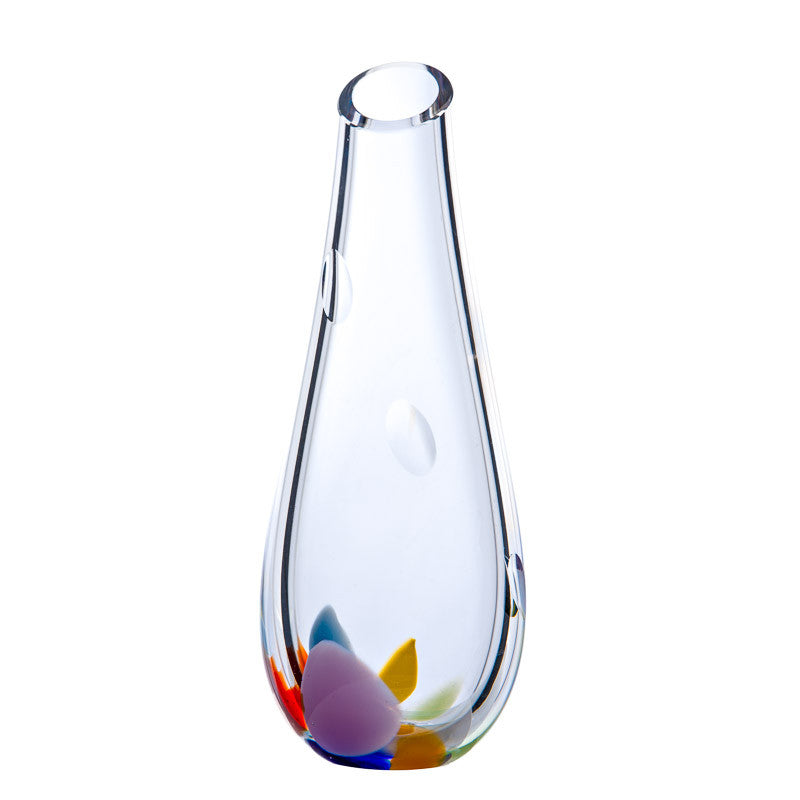 The Irish Handmade Glass Company: Wildflower Bud Vase - Hibernian Gifts