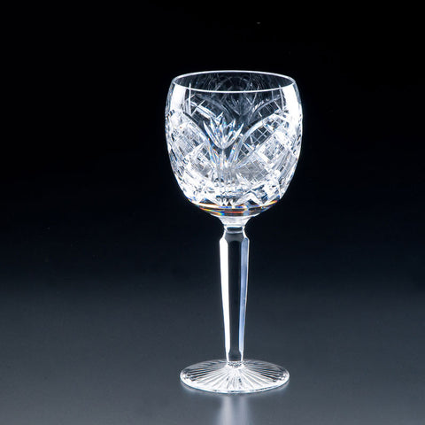 Heritage Irish Crystal: Cathedral Goblet - Hibernian Gifts