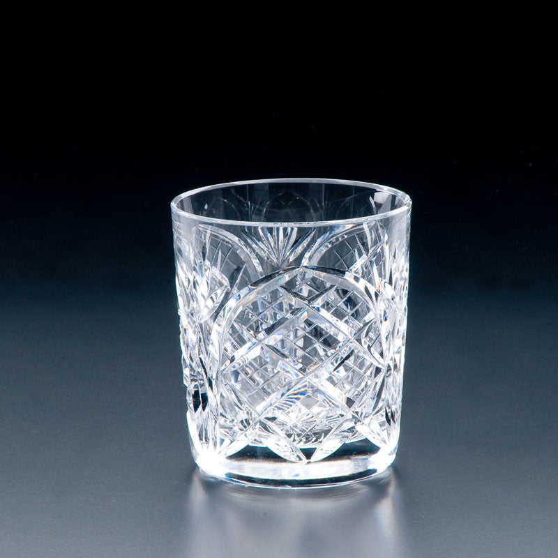 Heritage Irish Crystal: 10oz Cathedral Old Fashioned Tumbler - Hibernian Gifts