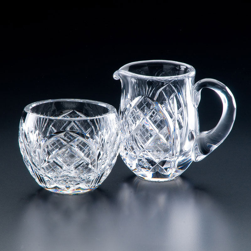 Heritage Irish Crystal: Cathedral Cream Jug - Hibernian Gifts