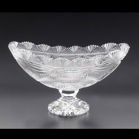 Heritage Irish Crystal: Valentia Island Boat Bowl Limited Edition - Hibernian Gifts