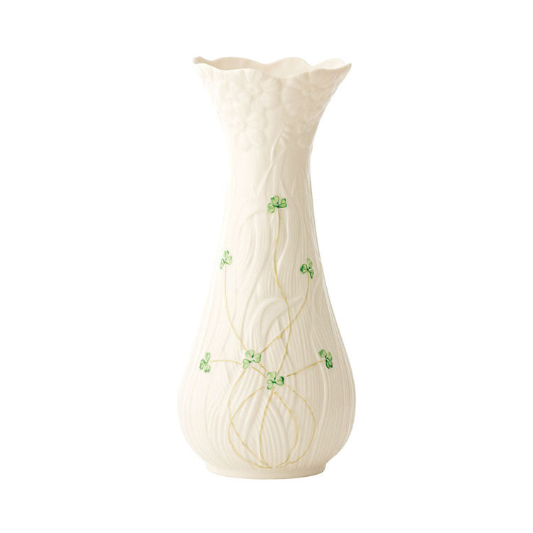 Belleek: Daisy Vase Tall - Hibernian Gifts