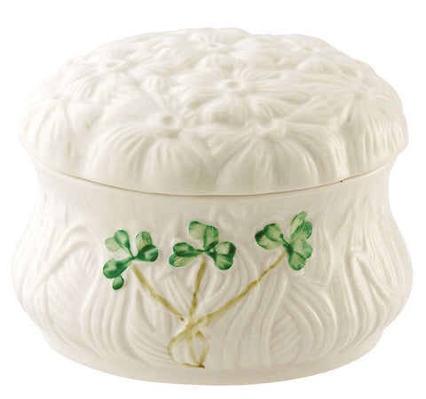 Belleek: Daisy Trinket Box - Hibernian Gifts