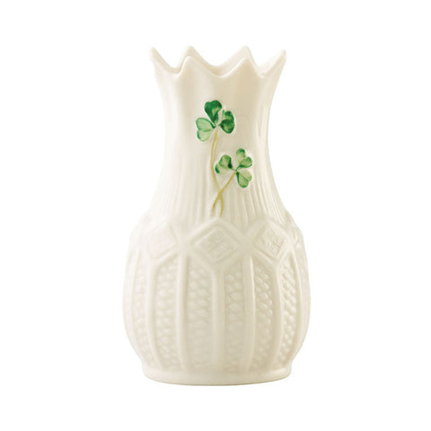 Belleek: Cashel Mini Vase - Hibernian Gifts