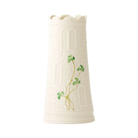 Belleek: Castle Vase - Hibernian Gifts