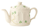 Belleek: Castle Teapot - Hibernian Gifts