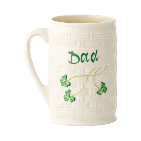 Belleek: Dad Mug - Hibernian Gifts