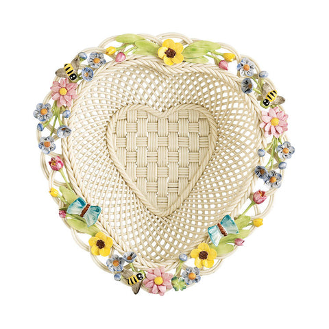 Belleek: Love of Nature Annual Basket - Hibernian Gifts