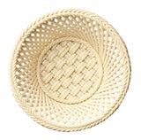 Belleek: Round Flat Rod Basket