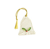 Belleek: Basket Bell Ornament - Hibernian Gifts
