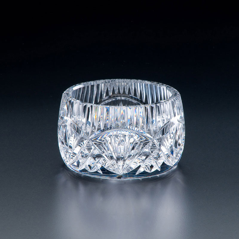 Heritage Irish Crystal: Jordan Bowl (5in) - Hibernian Gifts