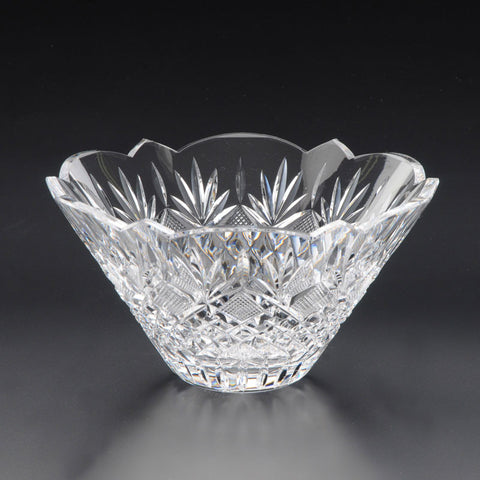 Heritage Irish Crystal: Trellis Bowl (9in) - Hibernian Gifts