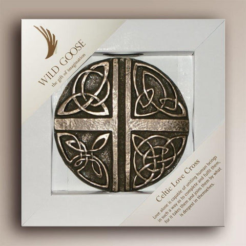 Wild Goose: Celtic Love Cross - Hibernian Gifts - 1
