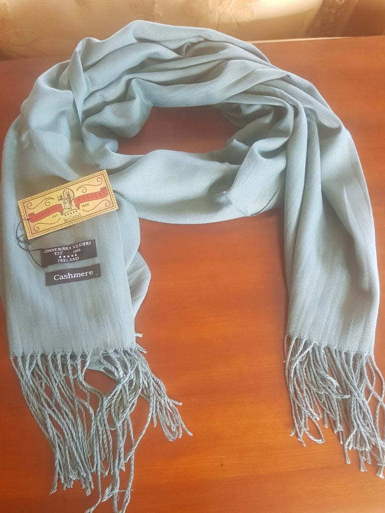 CONNEMARA WEAVERS, IRELAND Cashmere Scarf for High Quality Classic Winter Style Fashion 100%