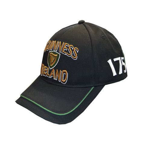 Official Guinness 1759 Baseball Cap with Irish Harp - Hibernian Gifts