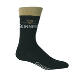 Black And Beige Guinness Socks - Hibernian Gifts