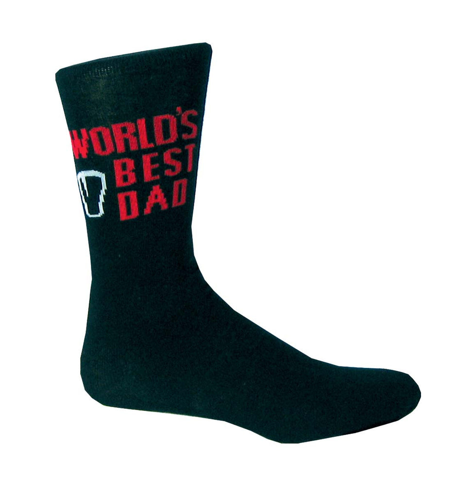 Guinness World's Best Dad Socks - Hibernian Gifts