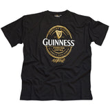 Guinness Signature T-Shirt - Black - Hibernian Gifts
