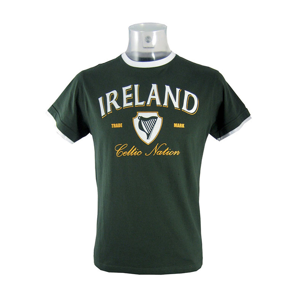 Ireland Celtic Nation Trademark T-Shirt - Hibernian Gifts