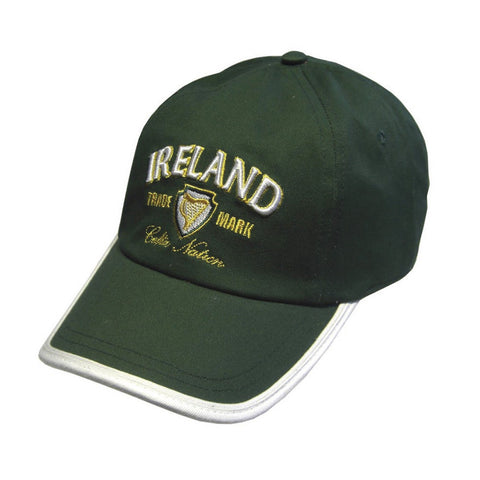 Celtic Nation Trademark Baseball Cap - Green - Hibernian Gifts